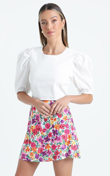 Giverny Top in White