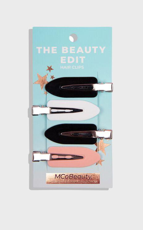 MCoBeauty - The Beauty Edit Backstage Hair Clips (4pk)