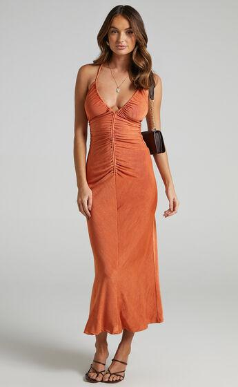 Yassie Dress in Orange