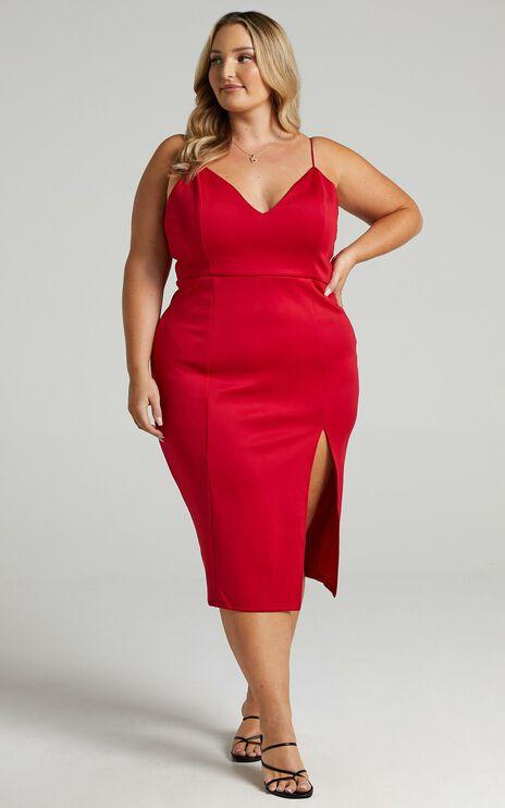 Big Ideas Dress In Red