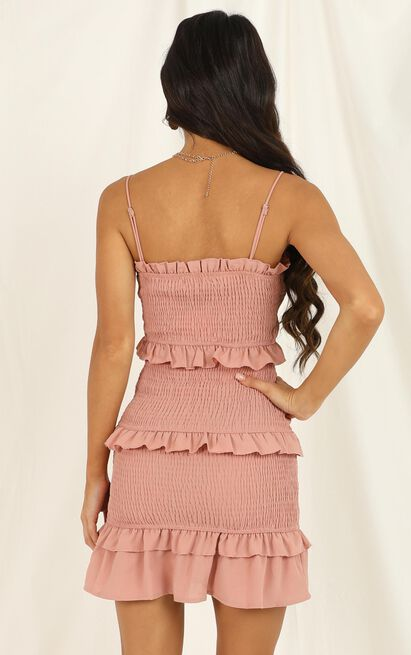 Throw It to me dress in blush - 16 (XXL), Pink, hi-res image number null