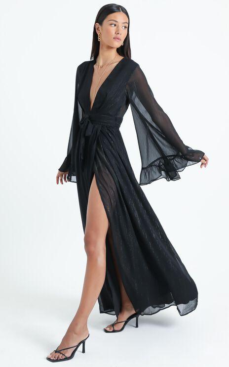 Dangerous Woman Maxi Dress in Black