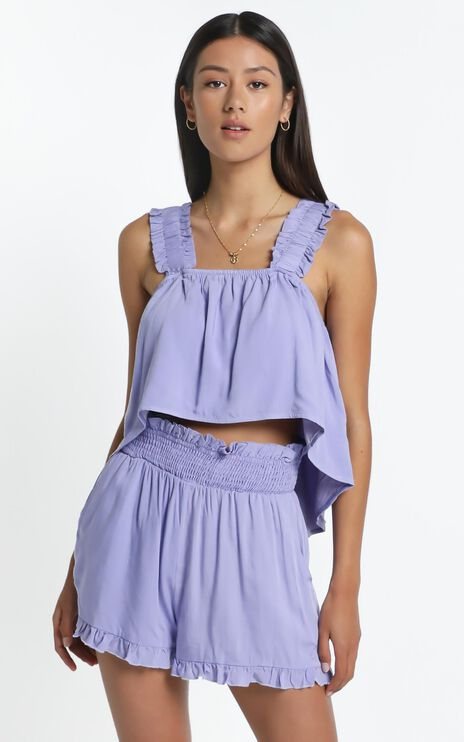 Decorah Top in Lilac