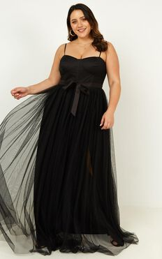 At The Altar Dress In Black