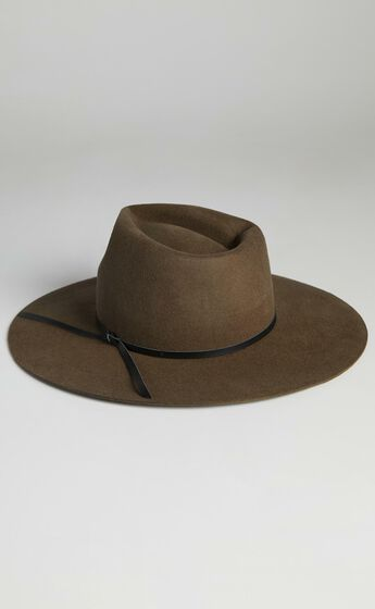 Ace Of Something - Bronco Hat in Truffle