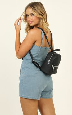 The Old Way Backpack In Black