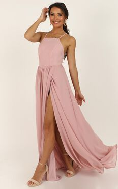 My Kind Of Prom Dress In Blush