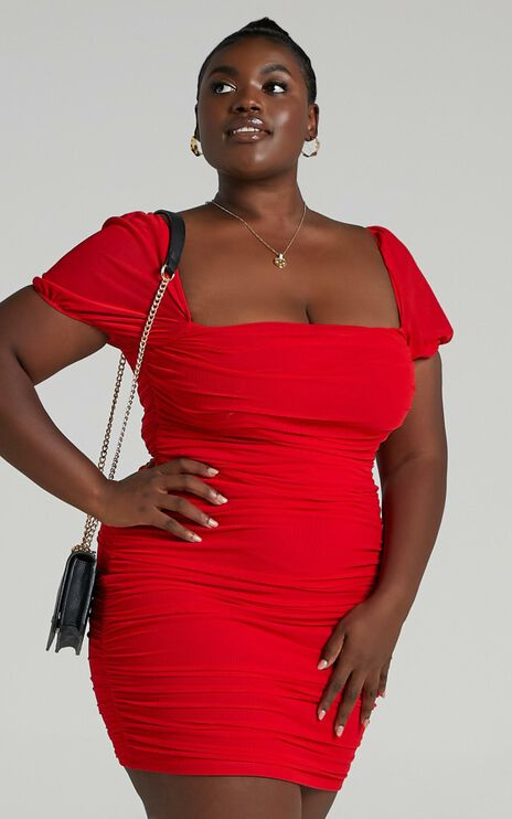Im All Yours Dress In Red