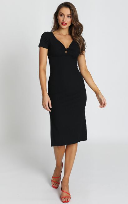 Jolene Dress in black - 14 (XL), Black, hi-res image number null