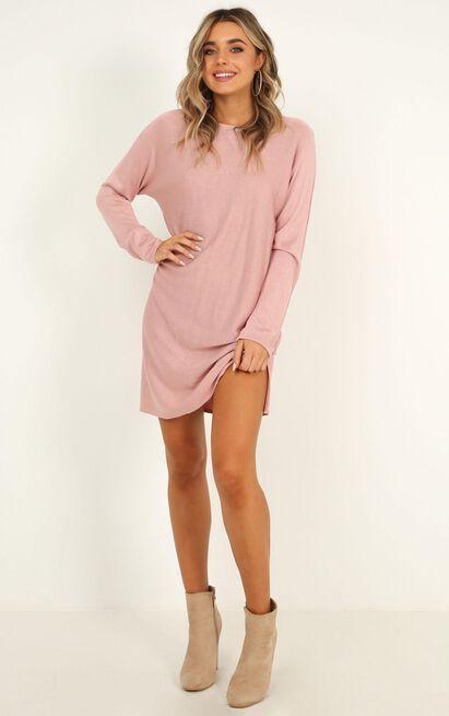Got A Smile Dress in blush - 16 (XXL), Blush, hi-res image number null