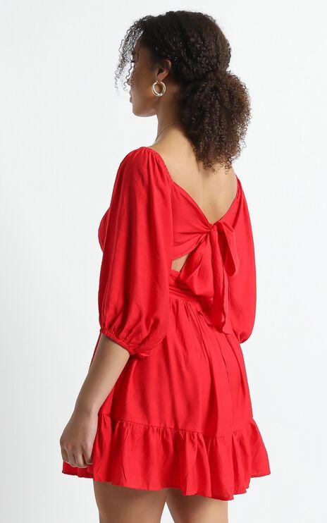 Mandi Dress in Red