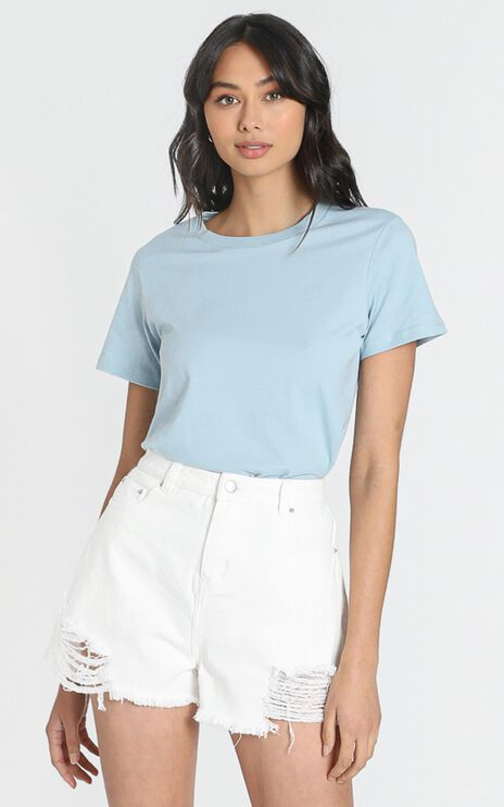 AS Colour - Maple Tee in Pale Blue