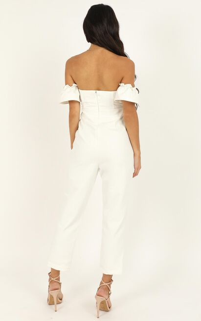 What Do I Have To Do Jumpsuit in white - 20 (XXXXL), White, hi-res image number null