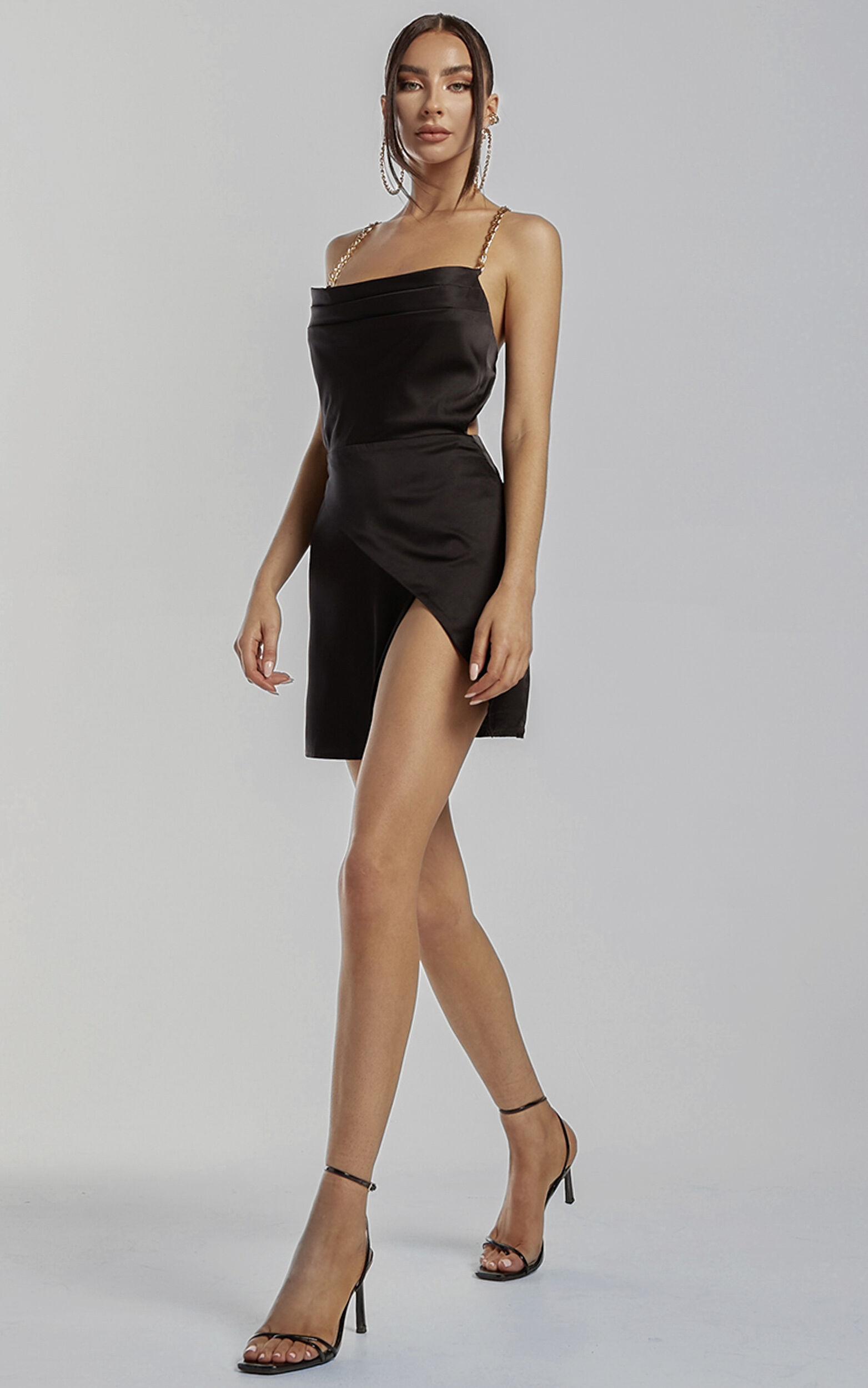 Runaway The Label - Dallas Dress in Black - L, BLK1, super-hi-res image number null