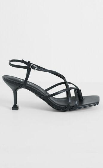 Verali - Neve Heels in Black