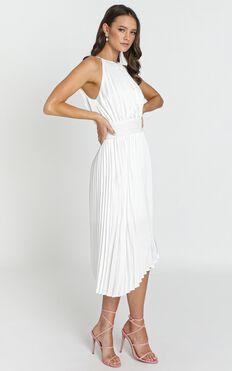 Amalia Midi Dress In White