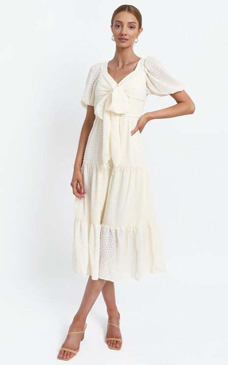 Neive Dress in Cream