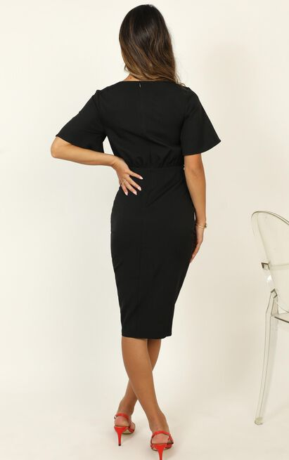 Listings Dress in black - 20 (XXXXL), Black, hi-res image number null