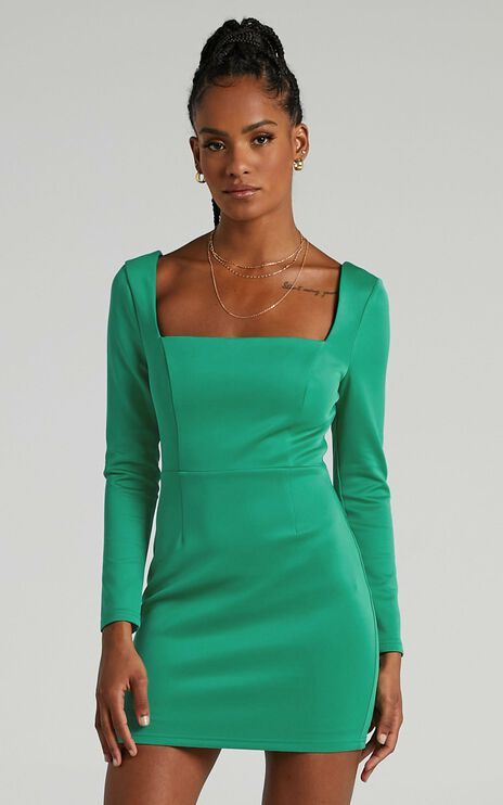 Hasina Dress in Jade