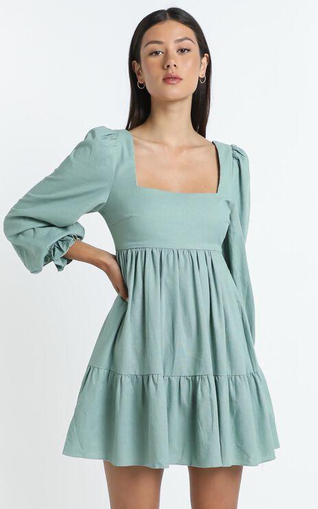 Acacia Dress in Sage