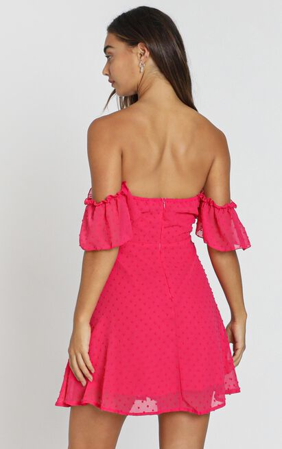 Nevis Dress in berry - 8 (S), Pink, hi-res image number null