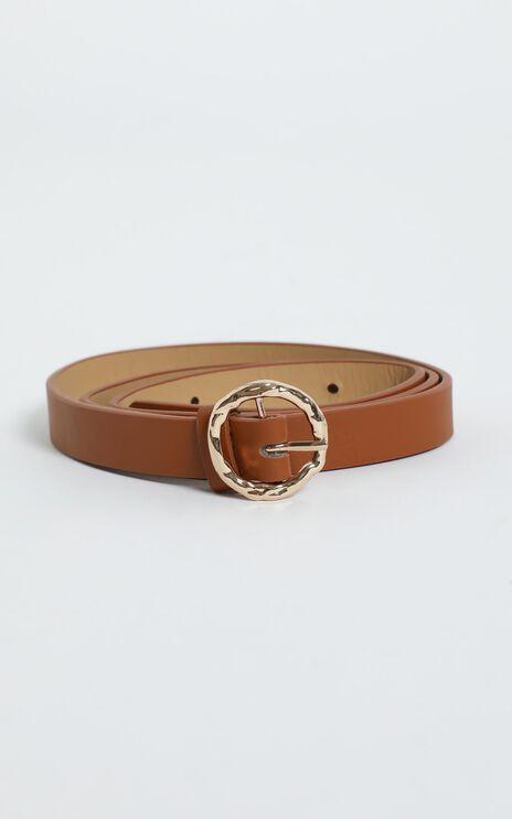 Delaney Belt in Brown