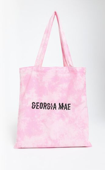 Georgia Mae - The Tie Dye Tote in Pink