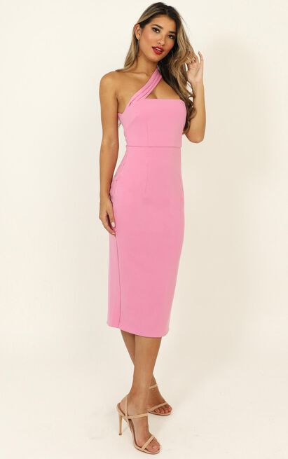 Never Lose Sight dress in hot pink - 16 (XXL), Pink, hi-res image number null