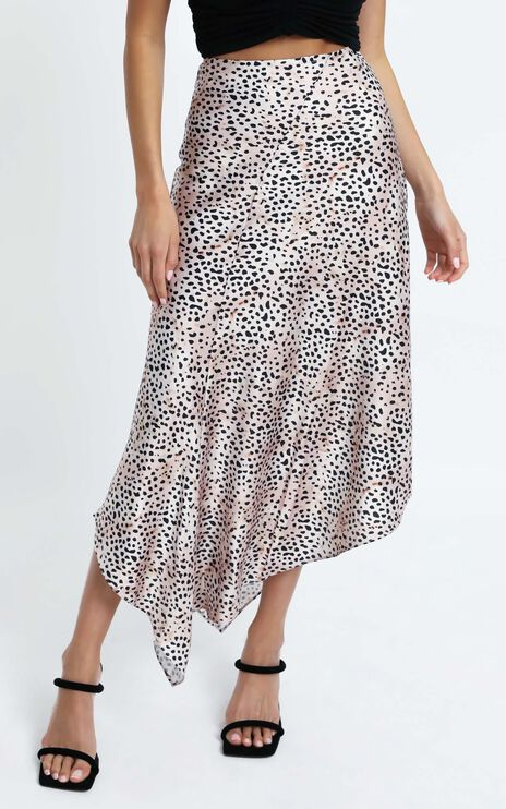Themmi Skirt in Leopard