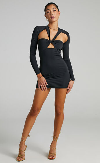 Lioness - Miracle Mile Dress in Black