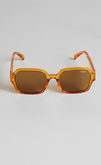 Soda Shades - Leyla Sunglasses in Amber