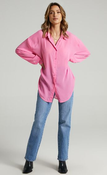 Morning Call Shirt in Pink