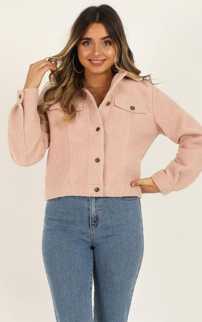 Only Intention jacket in blush - 12 (L), Blush, hi-res image number null