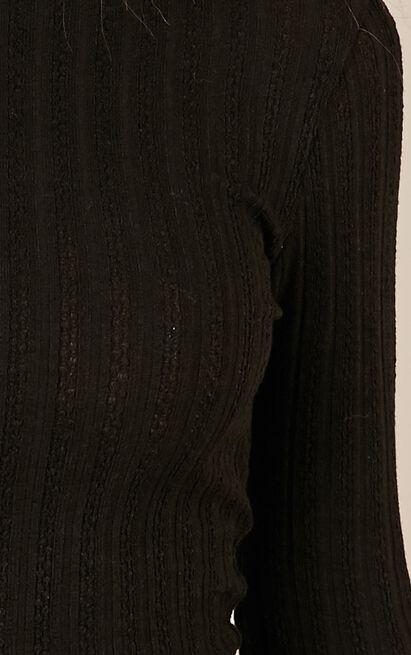 Safe And Sound top in black - 14 (XL), Black, hi-res image number null
