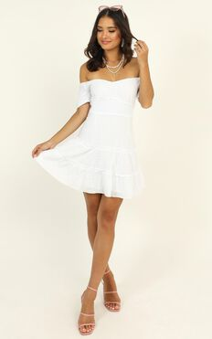 Positano Bound Dress In White