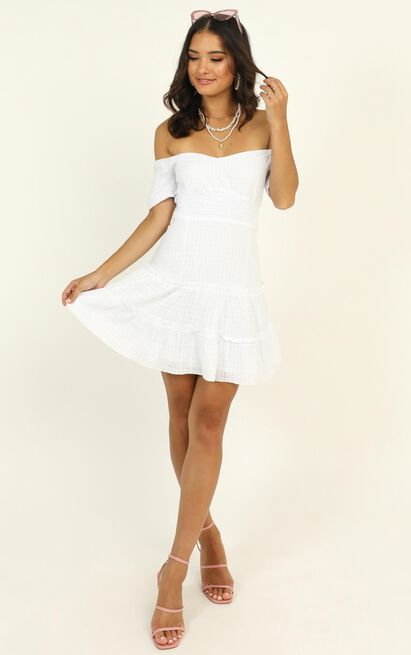 Positano Bound Dress in white - 14 (XL), White, hi-res image number null