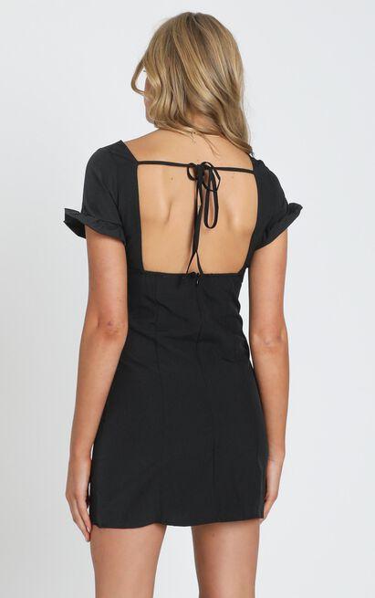 Devon Mini Dress in black - 8 (S), Black, hi-res image number null