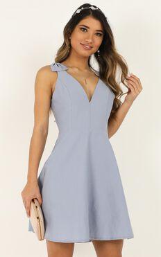 Sweetest Sunshine Dress In Light Blue