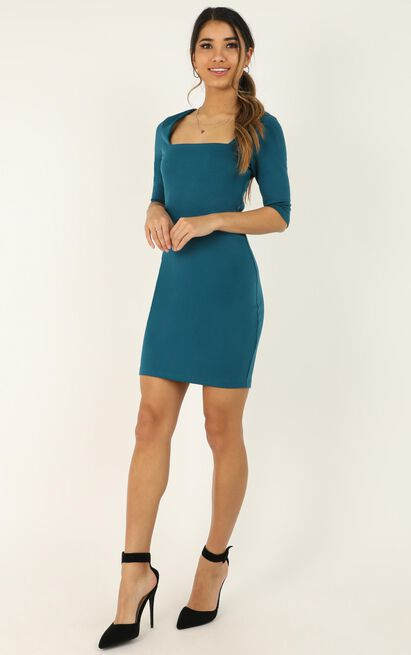 Searching For Love Dress In teal - 20 (XXXXL), Green, hi-res image number null