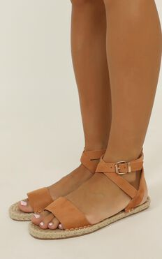 Verali - Enya Sandals In Honey Micro