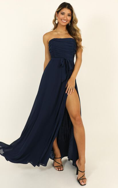 Someone I Love Dress in navy - 20 (XXXXL), Navy, hi-res image number null