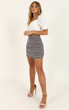 Tear Them To Pieces Skirt In Black