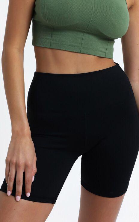Cheska Bike Shorts in Black