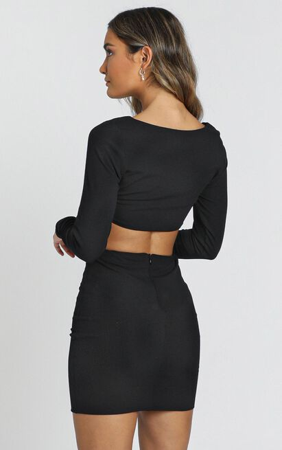 You Only Get One Two Piece Set in black - 20 (XXXXL), Black, hi-res image number null