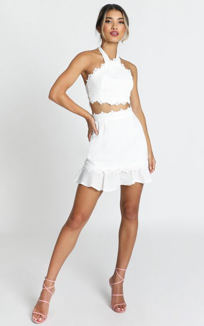 All Outta Love two piece set in white - 12 (L), White, hi-res image number null