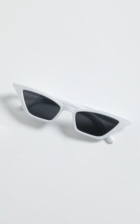 Carmela Sunglasses in White