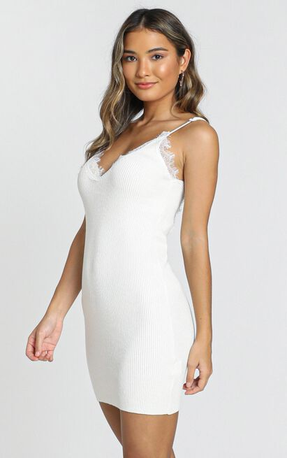 Plymouth Dress in white - 8 (S), White, hi-res image number null