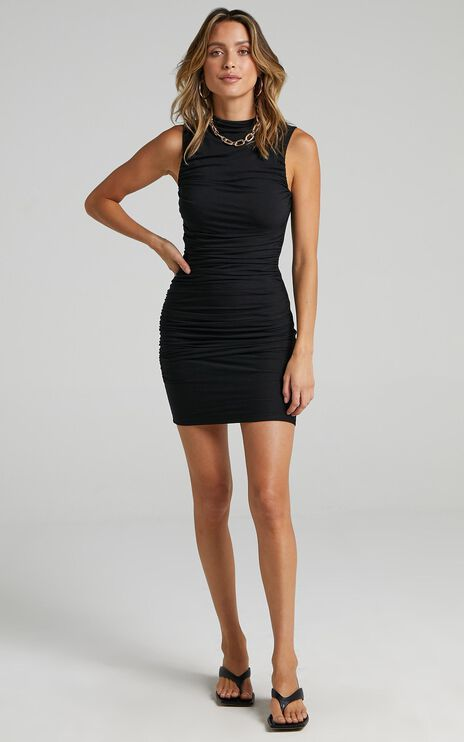 Lioness - Don't Call Me Baby Mini Dress in Black