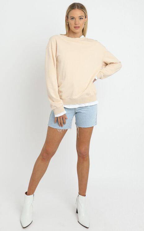 Terry Sweater in Beige