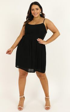 Nice And Tidy Dress In Black
